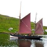 Mit der Johanna TG326 unterwegs im Nordatlantik